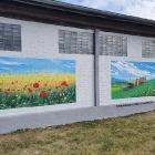 landwirtschaftliche Halle